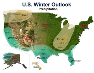 El Nino Climate Outlook, Image: NOAA