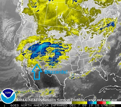 National Satellite Map, Image: NOAA