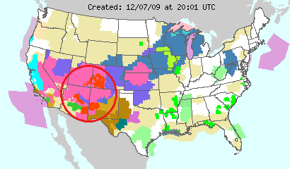 National Weather Warnings, Image: NOAA