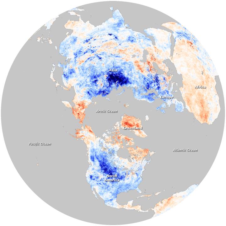 Temperatures Anomalies, Image: NOAA