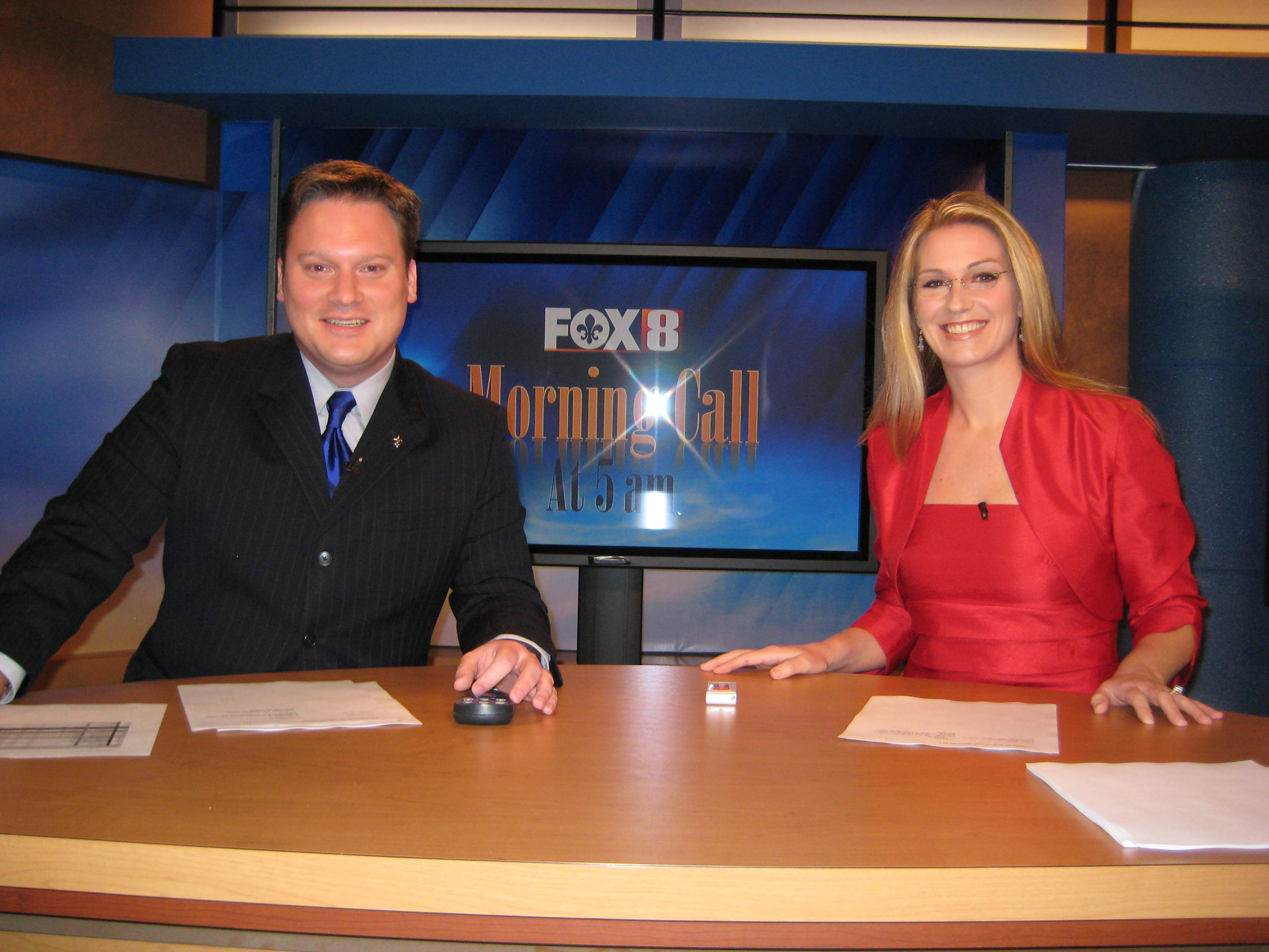Chris Franklin and Dawn Brown, WVUE New Orleans