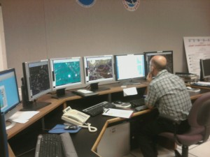 Senior Hurricane Specialist Dr. Lixion Avila Studies Tropical Storm Alex